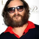 Joaquin Phoenix hide behind his dark sunnies and his long beard at the LAVO nightclub in Las Vegas. (Photo: WENN)