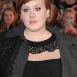 Unlike every single song she's ever sang, Adele's old brow look hit all the wrong notes. (Photo: WENN)