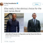 Idris Elba is not only the right choice, he's the obvious choice. (Photo: Twitter)