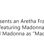 Sounds like… Madonna. (Photo: Twitter)