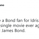 """If he could bring sexy to """"The Office,"""" imagine what he'd do as 007. (Photo: Twitter)"""