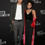 Vanessa Hudgens and her man proved they are masters of boho-style at Knott's Scary Farm Black Carpet party. (Photo: WENN)