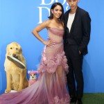 "Austin Butler and Vanessa Hudgens looking good at the premiere of LD Entertainment's ""Dog Days."" (Photo: WENN)"