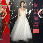 The Girl On Fire has nothing on Jennifer Lawrence. Click through our photo gallery an see by yourself JLaw's presence on the red carpet truly is a fashion present. (Photo: WENN)