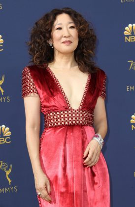 "Sandra Oh, whose masterful performance in ""Killing Eve"" landed her a nomination for Best Actress in a Drama Series, became the first Asian woman ever to be nominated in that category. (Photo: WENN)"