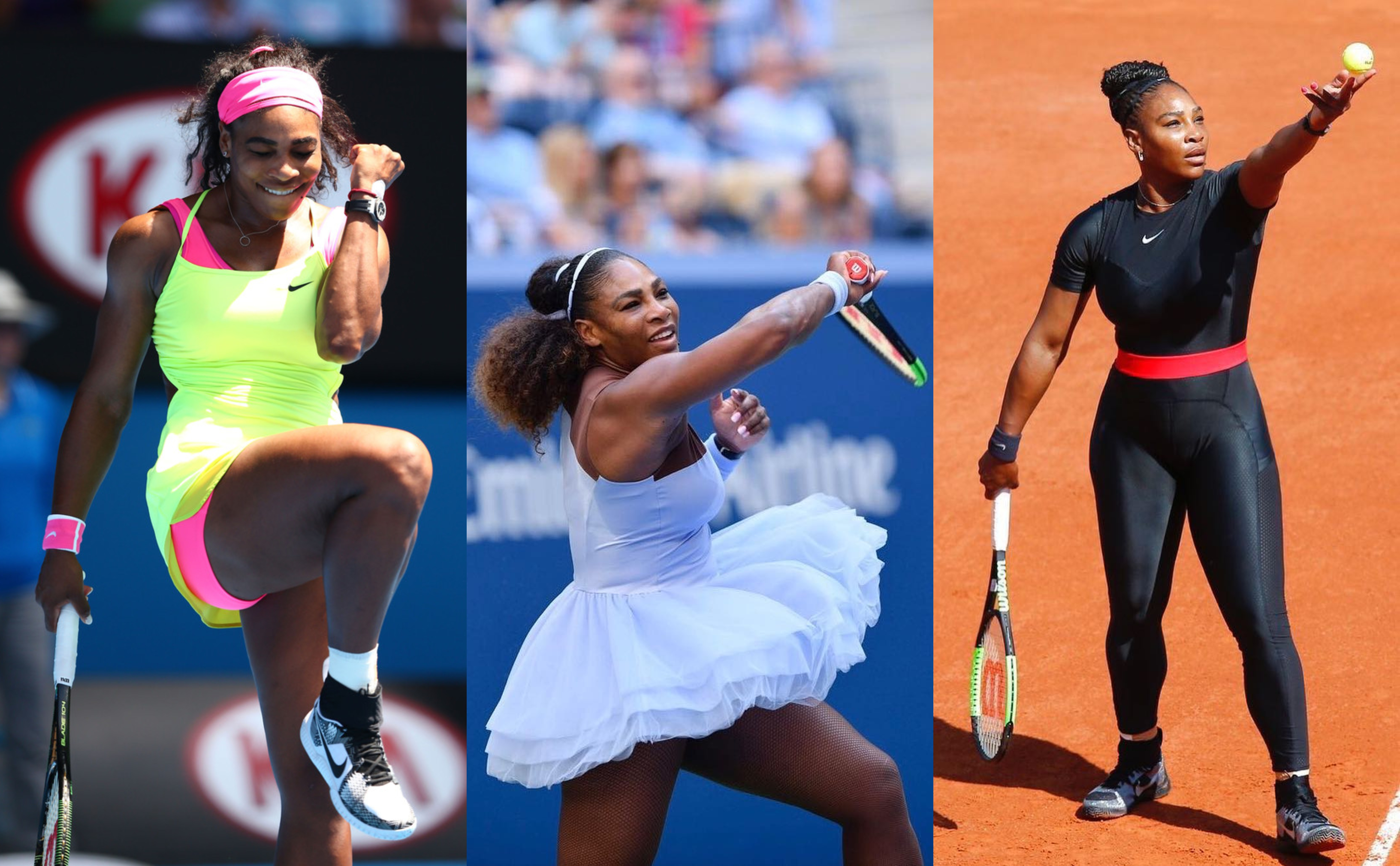 Serena Williams is not only the best female tennis player in the world—she's also the most stylish. Our kind of fashion icon! (Photos: WENN/Instagram)