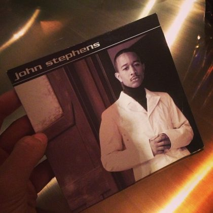 "That time Chrissy learned about John's life before being Legend. ""Simultaneously unpacking and filing for divorce."" (Photo: Instagram)"
