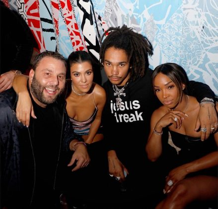 "Rumors that Kourtney and Luka are dating started swirling around over the weekend, when the pair was spotted partying at the opening of TAO Chicago. According to eye-witness, they were ""close to each other all night."" (Photo: Instagram)"