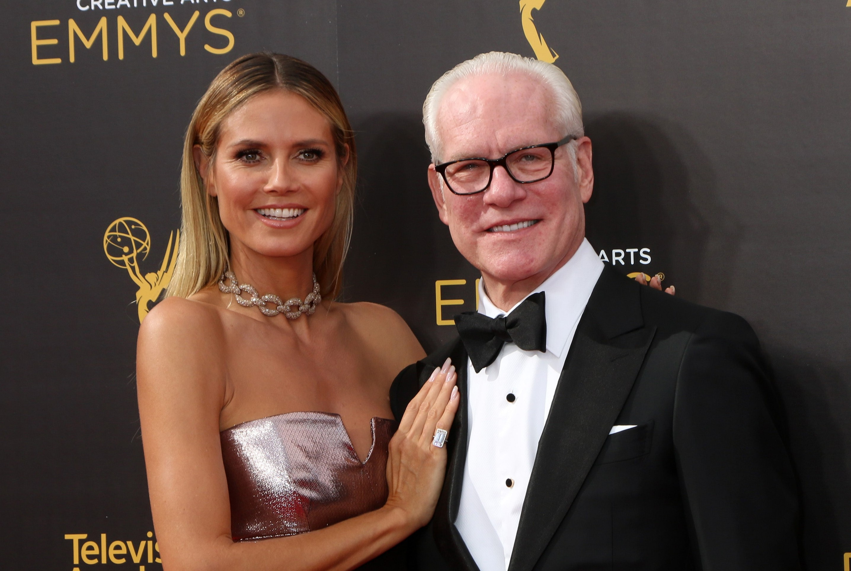 "Heidi Klum and Tim Gunn are leaving ""Project Runway."" (Photo: WENN)"