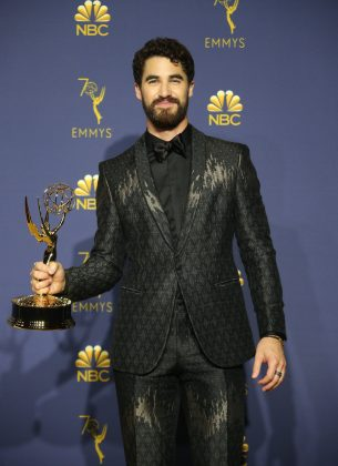 "While Sandra Oh missed out on her historic Emmy win, Darren Criss, who is half Filipino, became the third Asian person to win an acting Emmy for his work on ""The Assassination of Gianni Versace."" (Photo: WENN)"