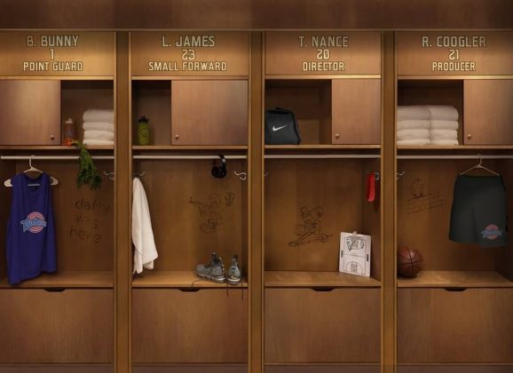 James' Springhill Entertainment announced the exciting news via Twitter in a teaser image featuring the locker room of the new Tune Squad. (Photo: Twitter)