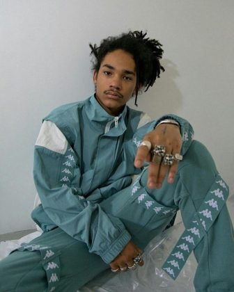 Luka Sabbat on November 26, 1997—which makes him 20 years old. Meaning he's 19 years younger than his new rumored beau, Kourtney Kardashian, 39. (Photo: Instagram)