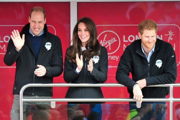 Because he's learned from the best. And, of course, we ain't talking about Prince Charles, but Harry's brother Prince William, who alongside Kate Middleton has given us #couplegoals since starring their own royal wedding in 2011. (Photo: WENN)