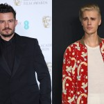 Back in 2014, Justin Bieber and Orlando Bloom met up in Ibiza where there was a huge bust up—which included a chair being hurled at the Canadian. The brawl was over rumors the singer made comments about Orlando's ex-wife, Miranda. (Photo: WENN)