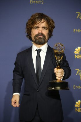 "With his seventh Emmy nomination for his work on ""Game of Thrones"" as Tyrion Lannister, Peter Dinklage—who won Monday night, is now the most-nominated actor ever in the category of Best Supporting Actor in a Drama. (Photo: WENN)"