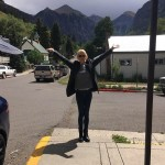"Nicole Kidman rode the Telluride wave. ""Thank you for a great weekend of films, conversation and fun,"" she captioned this picture. (Photo: Instagram)"