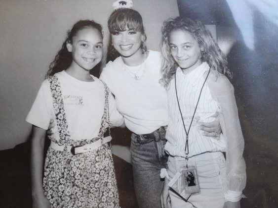 Paula Abdul was everyone's 80's icon. Even Nicole's. (Photo: Instagram)