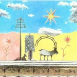 Paul McCartney had previously used the album's title for one of his 1988 paintings. (Photo: Release)