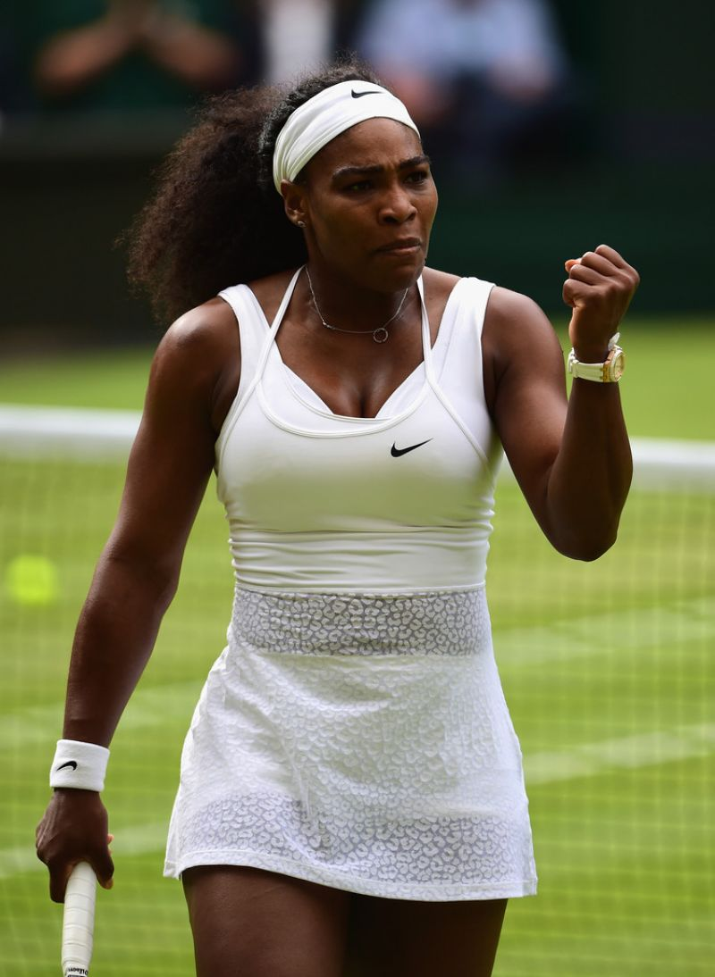 The Tennis Legend Pushed Wimbledon S All White Dress Cote To New Limits In 2017 With