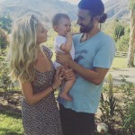 In 2015, Brandon and Leah welcomed their daughter Eva James. (Photo: Instagram)