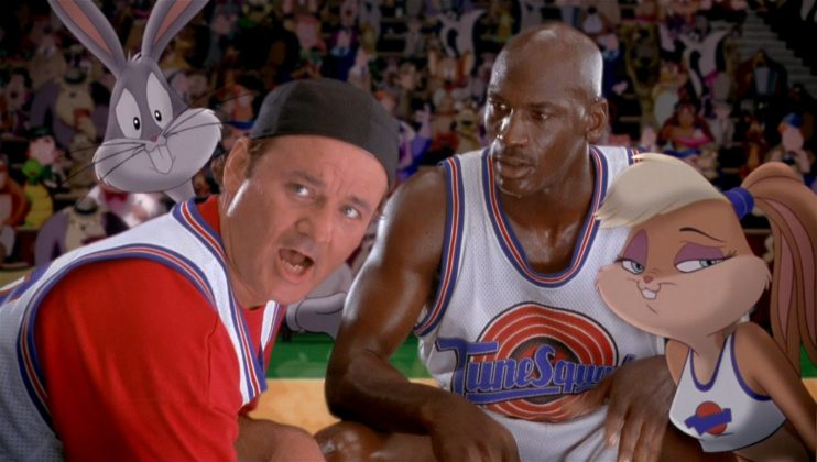 The 1996 followed Jordan in an epic basketball game against aliens to save the Looney Tunes from being enslaved at an interstellar amusement park. (Photo: Release)