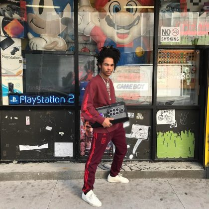 "Way before turning into a fashion/TV sensation, Luka was into video games. In fact, he's still credits them as the inspiration behind his style. ""I dress like I'm in a video game. I put together outfits inspired by Dudley from Street Fighter IV."" (Photo: Instagram)"