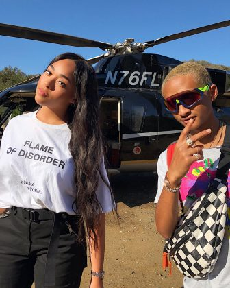 She has her own celebrity connections besides the Kardashian-Jenners. Not everyone gets to call Will Smith uncle Willy. In fact, Jordyn and Kylie's individual friendship with Jaden Smith probably resulted in their own bond. (Photo: Instagram)