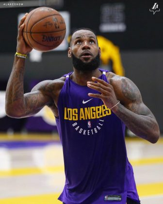 LeBron James signed with the Los Angeles Lakers this offseason. (Photo: Instagram)
