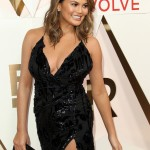 "Chrissy Teigen—""I now I love Beyoncé but I didn't realize how much I loved Beyoncé until the DJ played ""love on Top"" and I cry-danced."" (Photo: WENN)"
