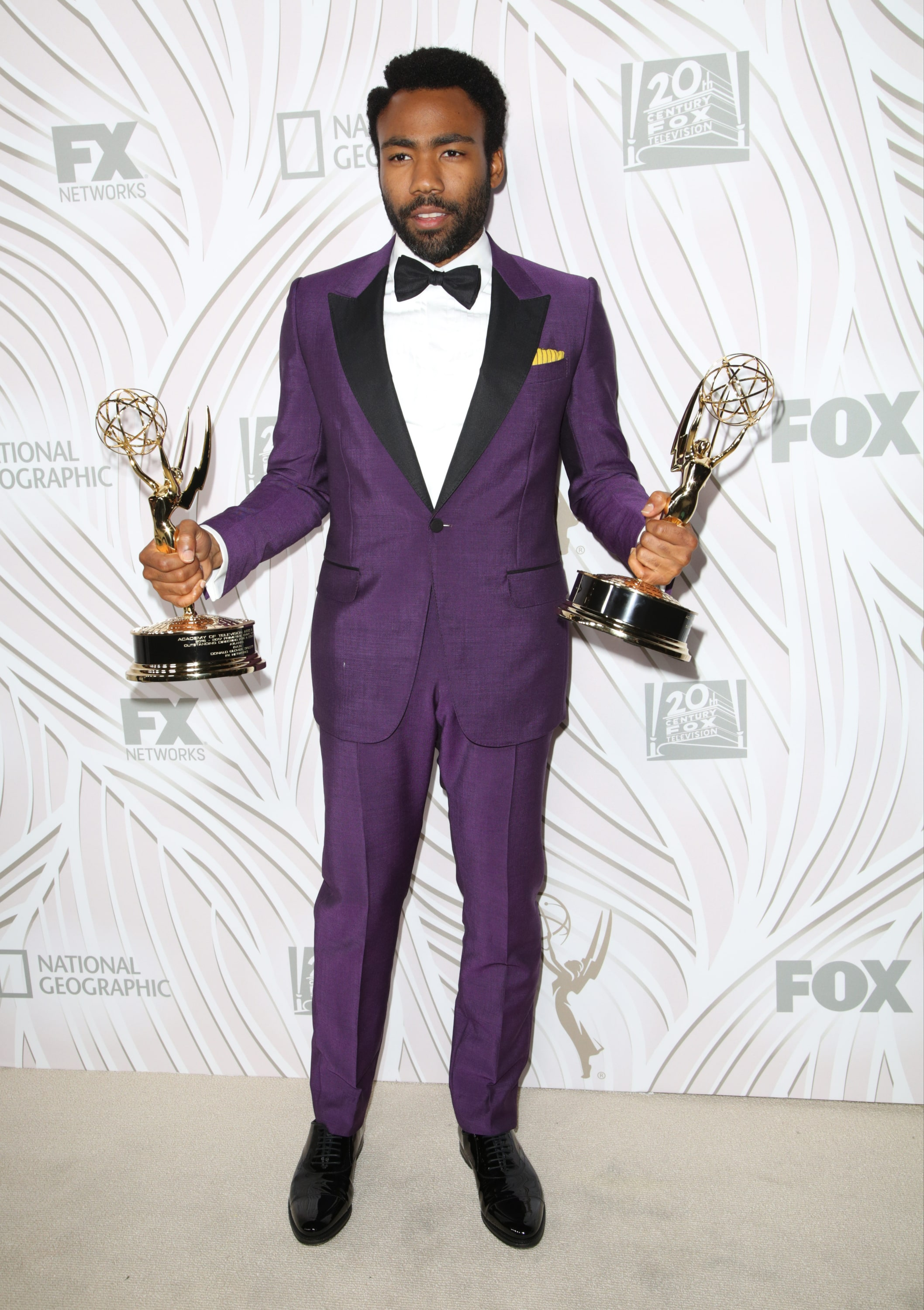 pictures Donald Glovers Tuxedo Was The Real Winner Of The Emmys