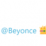 "Karlie Kloss tweeted a simple ""Happy #BeyDay"" along with a crown, bee, and heart emoji. (Photo: Twitter)"