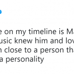 """""""Every person in music knew him and loved him,"""" wrote Diplo. (Photo: Twitter)"""
