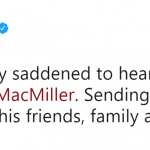 Bebe Rexha sent words of love and support to Mac Miller's friends, family and fans. (Photo: Twitter)
