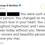Post Malone wrote a tweet about how his friend Mac Miller influence his life and career. (Photo: Twitter)