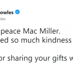 Solange Knowles celebrated Mac Miller in a moving tweet. (Photo: Twitter)
