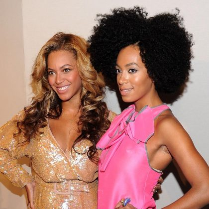 Solange is actually her daughter. If you follow the 'logic' that Beyoncé is a full nine years older, then she would have been 14-years-old when Solange was born, a totally feasible age to be with child. (Photo: Instagram)