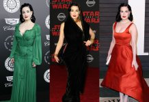Dita Von Teese's fascination with Hollywood's Golden Age and its classic retro style has also brought the 1940's back into the 21st century. (Photo: WENN)