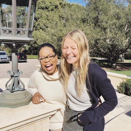 Be a good friend. Gwyneth has a bunch of very famous friends, including Beyoncé, Oprah, and Cameron Diaz, just to name a few. Even wealthy, G knows friendship is super important and that you should be loyal to the girls in your life. (Photo: Instagram)
