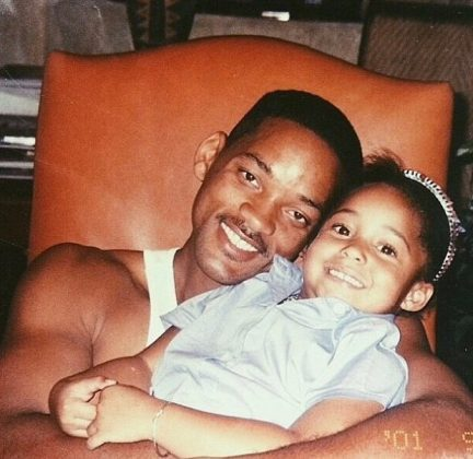 "Uncle Will Smith took to Instagram to share this throwback picture with Jordy, wishing her a happy new ""trip around the Sun."" (Photo: Instagram)"