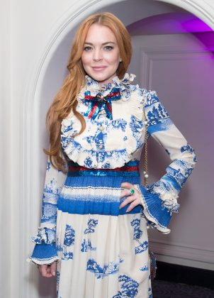 "The bizarre incident comes weeks after Lindsay called #MeToo accusers ""weak."" (Photo: WENN)"