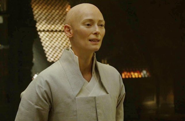 """Dr. Strange""— In the comics, Stephen Stranger's mentor The Ancient One is Asian and male. Understandably Tilda Swinton's gender and ethnicity cause an uproar among fans. Whitewashing aside, her casting was a vital step for gender representation. (Photo: Release)"
