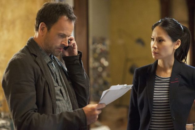 """Elementary""—Sherlock Home's fans were surprised to see his traditionally male companion Dr. Watson portrayed by the sexy Asian-American actress Lucy Liu. But her interpretation of the character is popular, and has won multiple awards! (Photo: Release)"