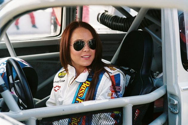 """Herbie Fully Loaded""—When Disney found the magical Herbie a new owner, they looked to one of the biggest young stars of the day, Lindsay Lohan. The remake was ridiculous, but Lohan proved to be a regular Danica Patrick. (Photo: Release)"