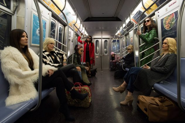 """Ocean's 8""—We were used to the Ocean's Eleven reboots starring George Clooney and Brad Pitt. But the 2018 episode, starring an all-female cast led by Sandra Bullock and Cate Blanchett became an absolute blockbuster. Most gender-swaps can't boast this much talent. (Photo: Release)"