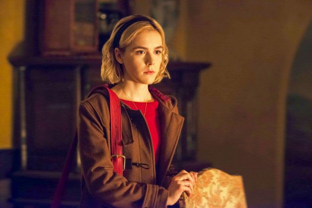 """The Chilling Adventures of Sabrina"", the scary series starring Kiernan Shipka, debuts October 26th. (Photo: Release)"