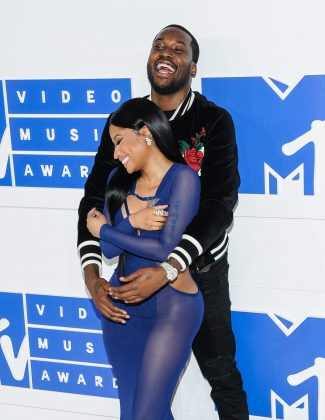 Nicki Minaj previously dated fellow rapper Meek Mill for over two years. (Photo: WENN)