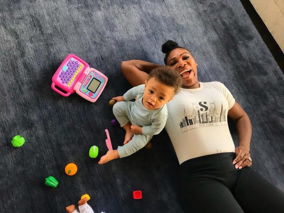 "Serena is the epitome of supermom. She welcomed her daughter in 2017 and immediately became an inspiration for moms around the globe. ""To all the moms out there, I was paying for you today,"" she said in a touching Wimbledon speech. (Photo: Instagram)"