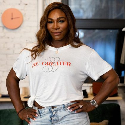 Williams is a successful businesswoman. She's used her time off the tennis court wisely to become an entrepreneur. She's designs for her own brand, Serena, and has endorsements from Nike, Gatorade, Pepsi, Beats by Dr. Dre, just to name a few. (Photo: Instagram)