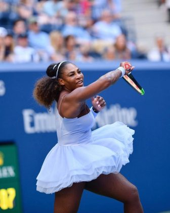 Serena is a fashion icon. Her on-court ensembles have been some of the most memorable in the history of the sport, like the tutu she rocked during the '18 US Open. Not to mention she's been on the cover of Vogue. (Photo: Instagram)