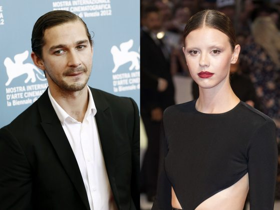 "Shia LaBeouf and Mia Goth ""filed for divorce"" amid rumors he's dating FKA Twigs. (Photo: WENN)"